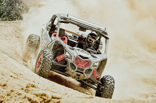 Мотовсюдихід квадроцикл BRP Can-Am Maverick X3 Xrs Turbo RR 2021 модельного року