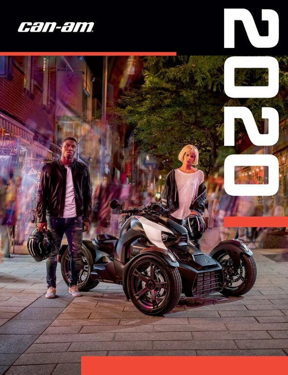 Каталог аксесуарів Can-Am On-Road Spyder Ryker 2020