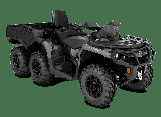 Квадроцикл 2021 Can-Am Outlander MAX 6x6 XT 1000R Pure Magnesium Магній