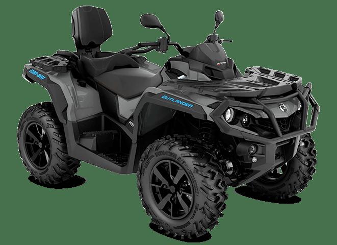 Квадроцикл Outlander MAX DPS 1000R 2021 Granite Gray Octane Blue Сірий Синій