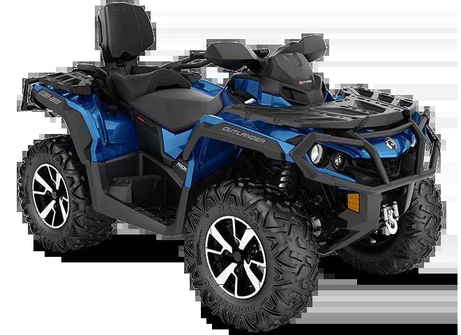 Квадроцикл Outlander MAX Limited 1000R Oxford Blue