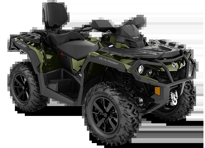 Квадроцикл Outlander MAX XT 650 Boreal Green