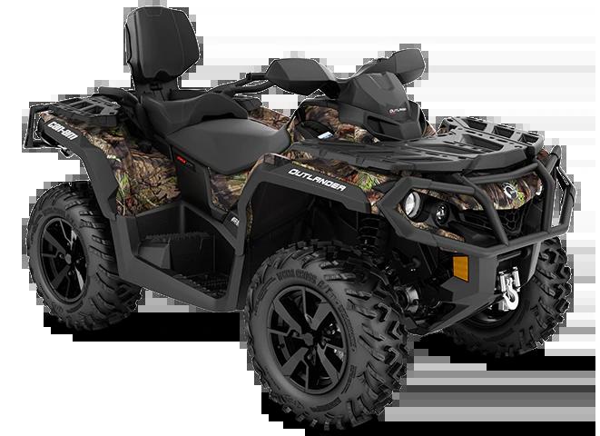Квадроцикл Outlander MAX XT 650 Camo