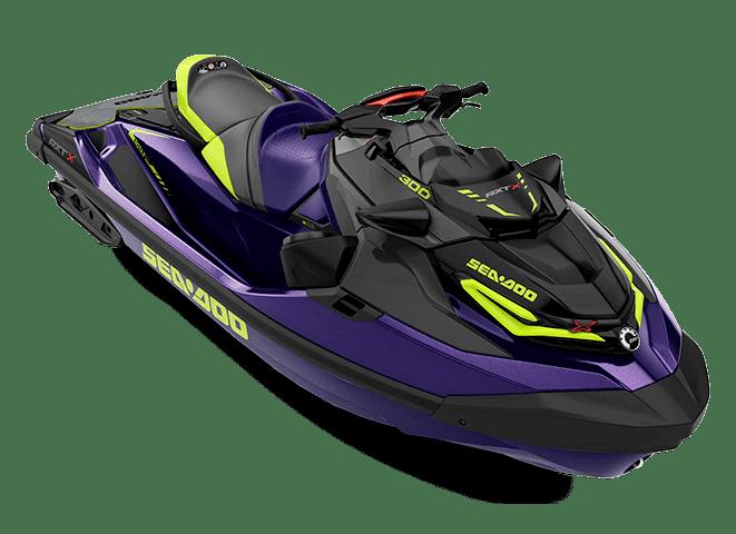 Гідроцикл SEA-DOO 2021 RXT-X 300 фіолетовий