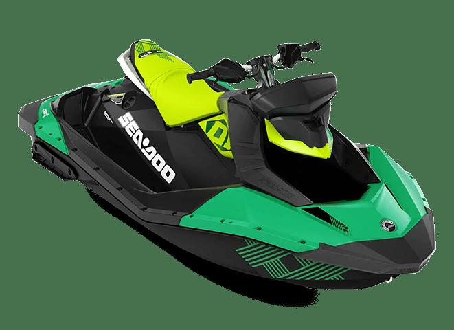 Гідроцикл SEA-DOO 2021 Spark Trixx 90 2UP зелений