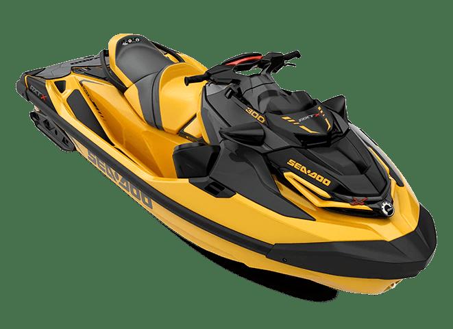 BRP 2021 Sea-Doo RXT-X 300 SS Millenium Yellow
