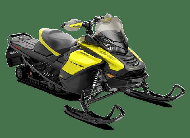 Снігохід Ski-Doo 2021 Renegade Adrenaline 900 ACE Turbo чорний жовтий