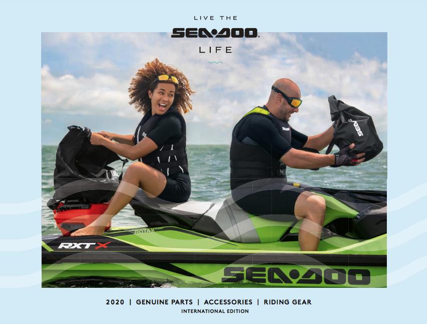 Каталог аксесуарів для гідроциклів Sea-Doo 2020