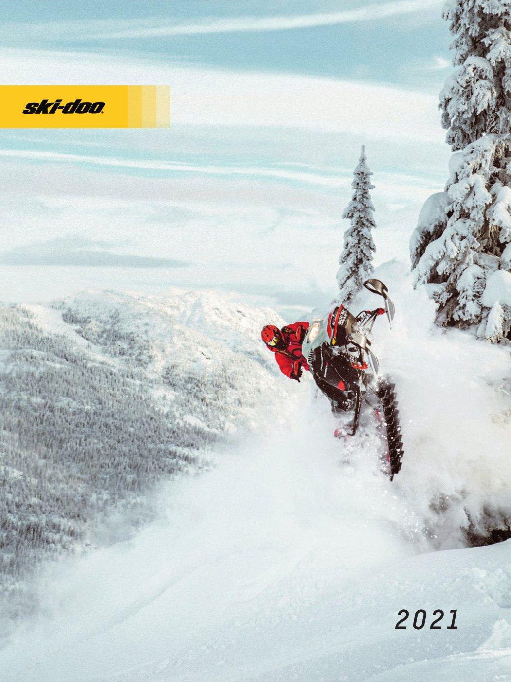 Брошура каталог снігоходів Ski-Doo 2021 модельний рік