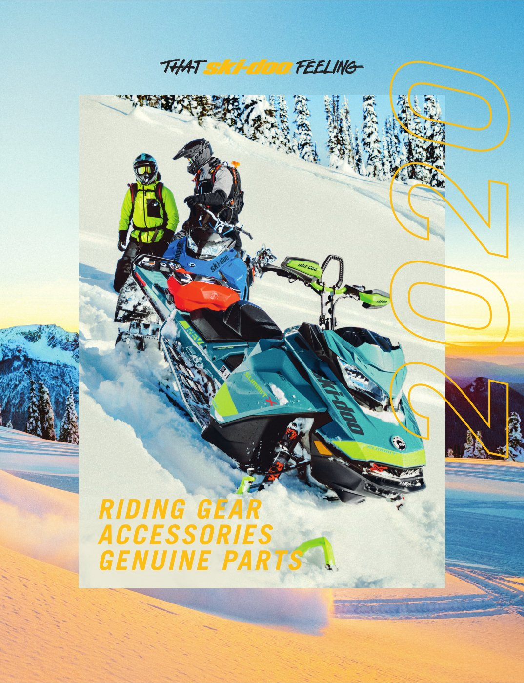 Каталог аксесуарів Ski-Doo 2020