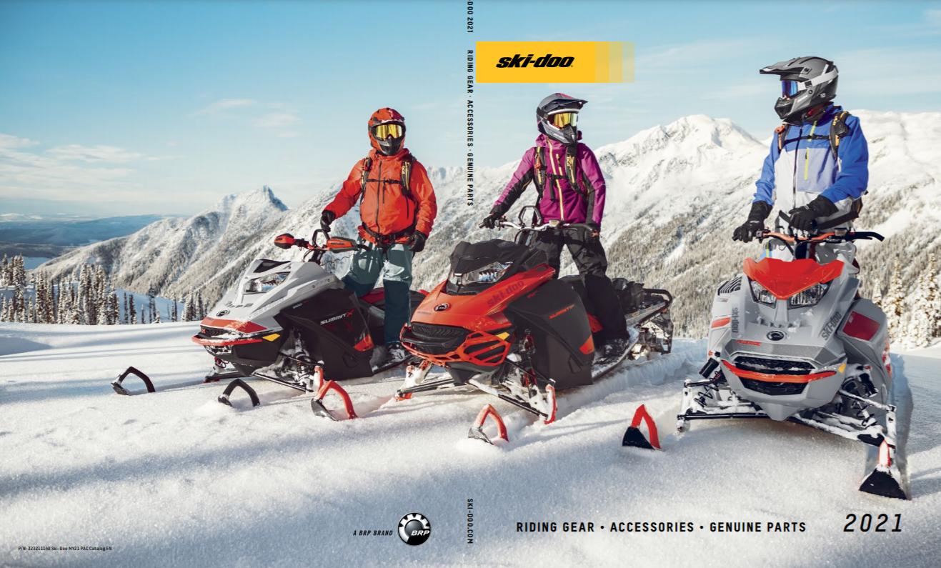 Каталог аксесуарів Ski-Doo 2021