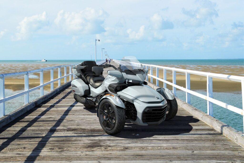 Родстер Can-Am Spyder F3 2021