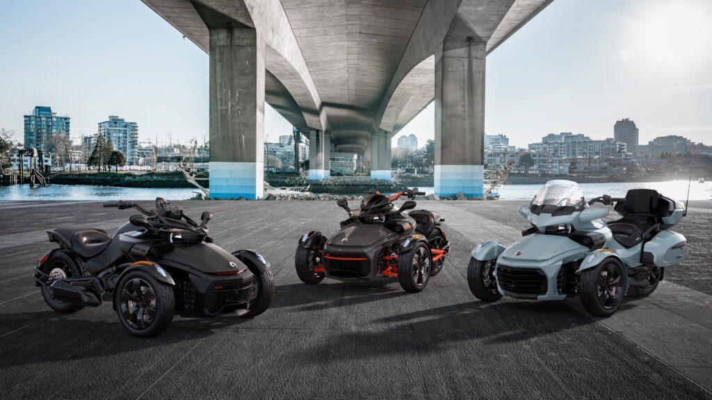 Трицикли Can-Am On-Road Spyder Ryker 2021 року