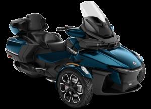 Трицикл Spyder RT Limited 2021 синій