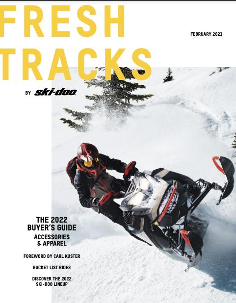 Каталог снігоходів Ski-Doo 2022