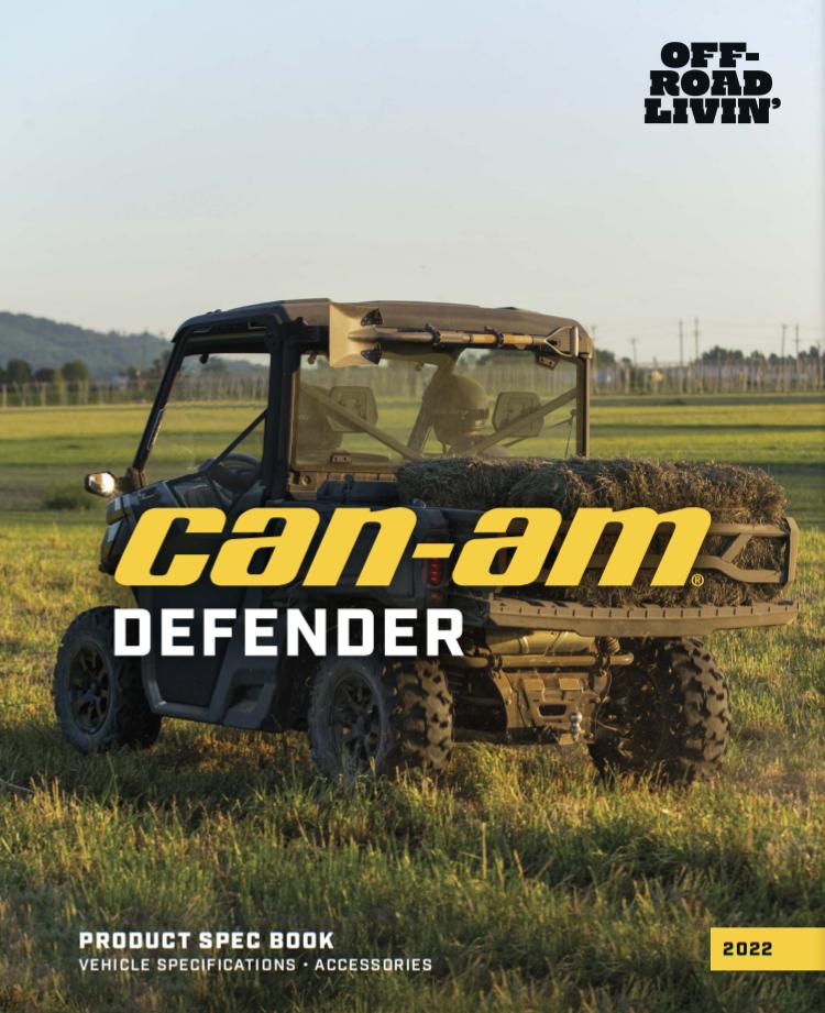 Каталог аксесуарів 2022_Can-Am_Defender