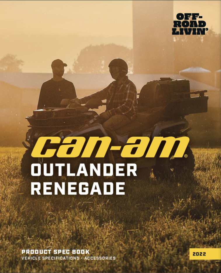 Каталог аксесуарів 2022_Can-Am_Outlander_Renegade