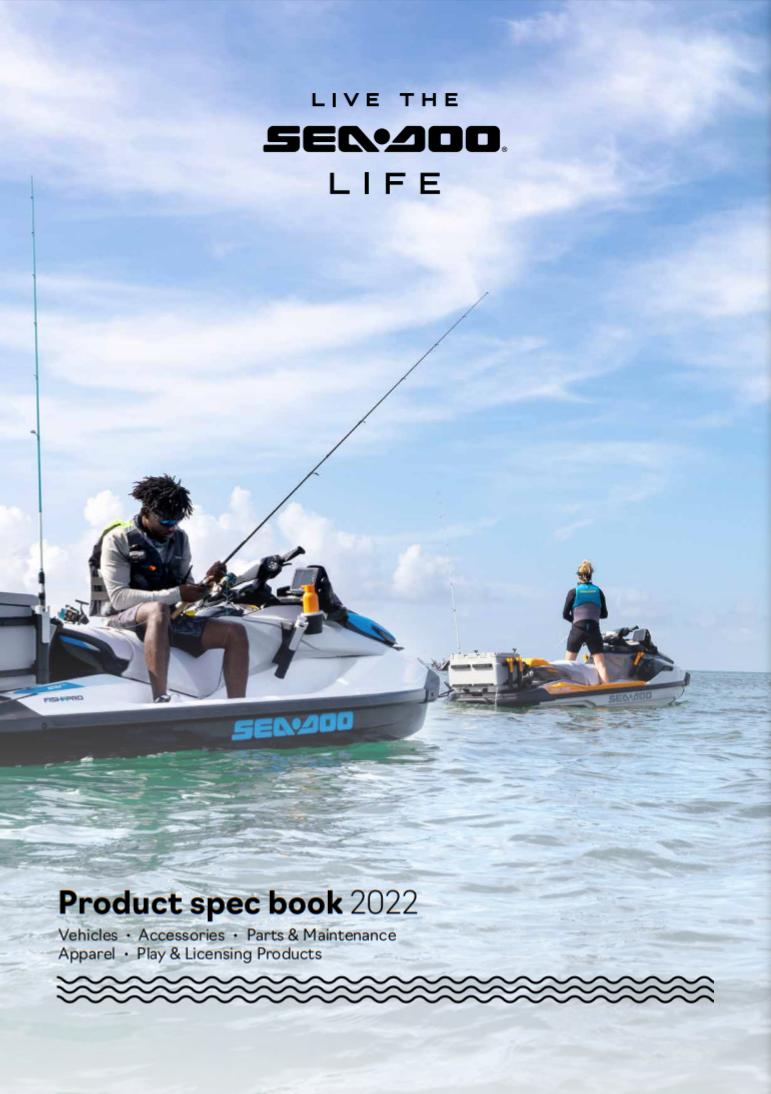 Каталог аксесуарів 2022_Sea-Doo_Product_specBook