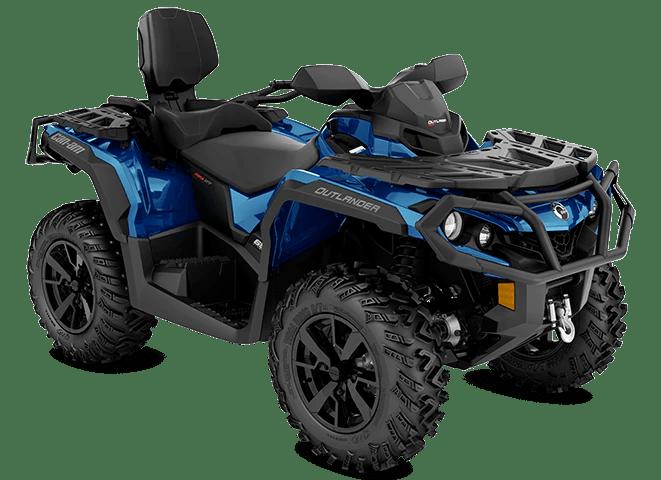 Квадроцикл Outlander MAX XT 650 Oxford Blue Can-Am 2022