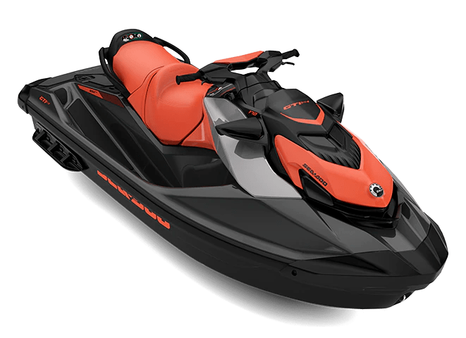 Гідроцикл GTI SE 170 Audio IDF Coral Blast Eclipse Black Sea-Doo 2022