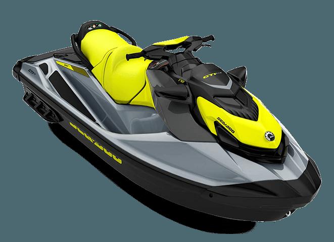Гідроцикл GTI SE 170 Neon Yellow Ice Metal Sea-Doo 2022