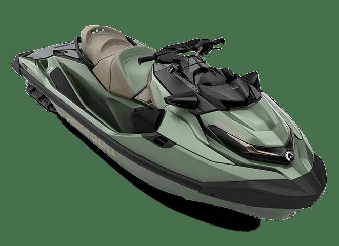 Гідроцикл GTX LTD 300 Audio IDF Metallic Sage Sea-Doo 2022