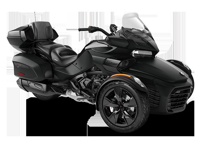 Квадроцикл Spyder F3 LTD 1330 ACE Monolith Black Can-Am 2022