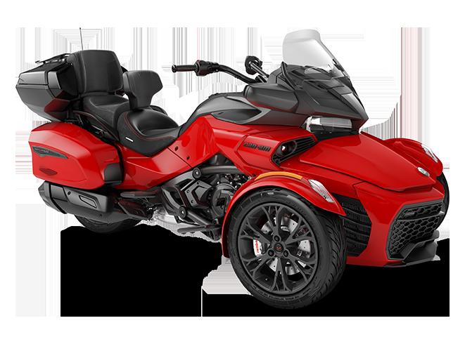 Квадроцикл Spyder F3 LTD 1330 ACE Viper Red Can-Am 2022