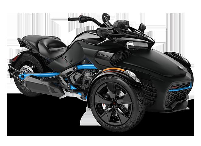 Квадроцикл Spyder F3 S 1330 ACE Monolith Black Can-Am 2022