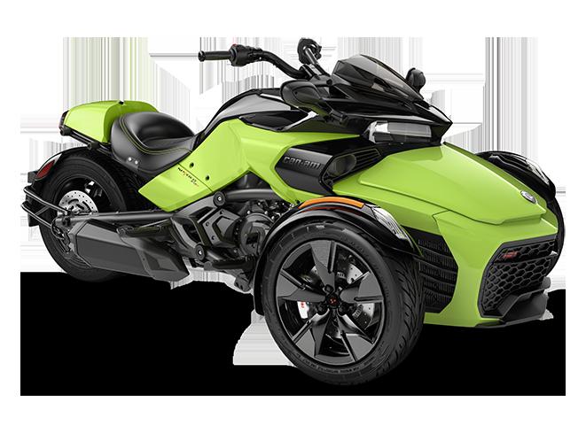 Квадроцикл Spyder F3 S 1330 ACE Manta Green Can-Am 2022