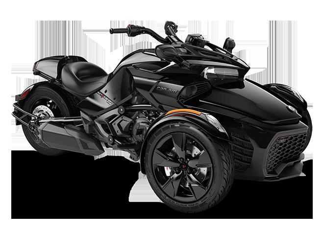 Квадроцикл Spyder F3 Std 1330 ACE Steel Black Can-Am 2022