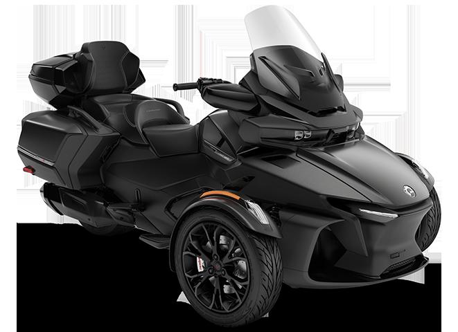 Квадроцикл Spyder RT LTD 1330 ACE Carbon Black Can-Am 2022