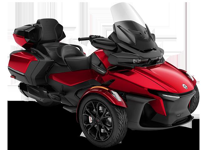Квадроцикл Spyder RT LTD 1330 ACE Deep Marsala Metallic Can-Am 2022